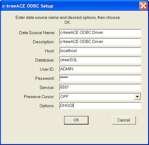 C-TREEACE ODBC DRIVERS FOR WINDOWS 8
