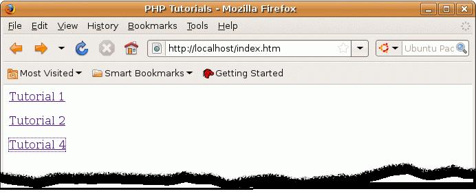 Run sql php Tutorials with Linux/Unix Apache